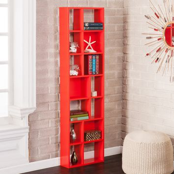 Higzy Shelf Bookcase Red Orange