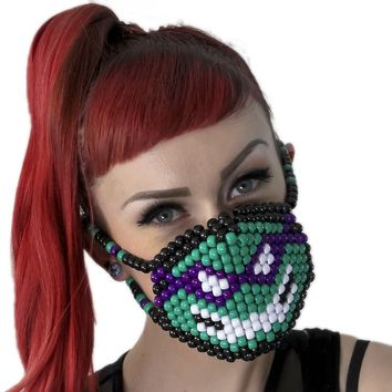 Donatello Teenage Mutant Ninja Turtles Surgical Kandi Mask TMNT