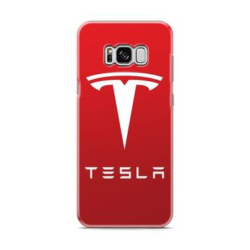 New Tesla Motors Logo Samsung Galaxy S8 | Galaxy S8 Plus case