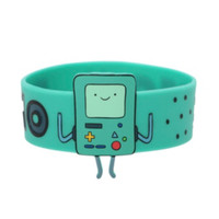 Adventure Time BMO Die-Cut Rubber Bracelet