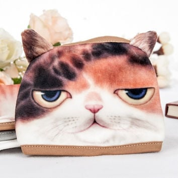 Korean Style New Fashion Casual Leisure Sport Bicycle Outdoor 3D Pet Cat Cartoon Pattern Anti-Dust Face Mask