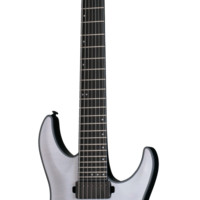 Schecter Keith Merrow KM-7 KM7 Trans White Satin Electric Guitar