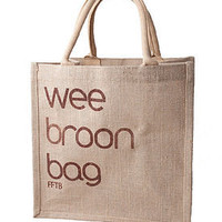 wee broon bag by hunkydory home | notonthehighstreet.com