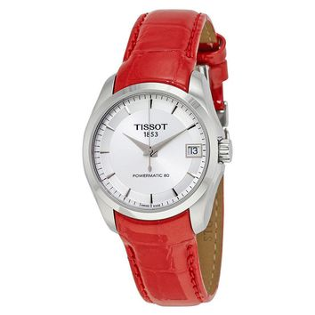 Tissot Couturier Powermatic 80 Automatic Ladies Watch T0352071603101
