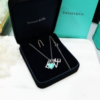 "Tiffany & Co. ""LOVE"" Sterling silver necklace"