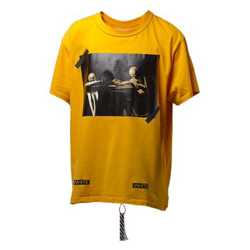 OFF-WHITE c/o Virgil Abloh Caravaggio T-Shirt (Yellow) – RSVP Gallery