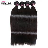 Online Shop Good Cheap 7A Virgin Hair 4 Bundles Peruvian Straight Hair Weave 100% Human Hair Unprocessed Virgin Straight Hair Weave Bundles | Aliexpress Mobile