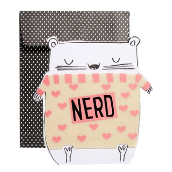 Paperchase Nerd Card