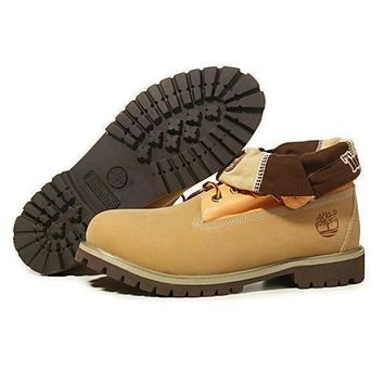 Timberland Women Leather Winter Waterproof Boots Martin Boots Shoes