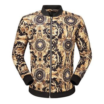 Day-First™ Boys & Men Versace Cardigan Jacket Coat
