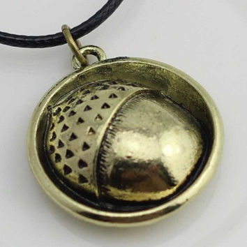 Bilbo Acorn Pendant Necklace