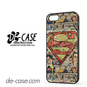 Superman Superhero Comic Book For Iphone 5 Iphone 5S Case Phone Case Gift Present