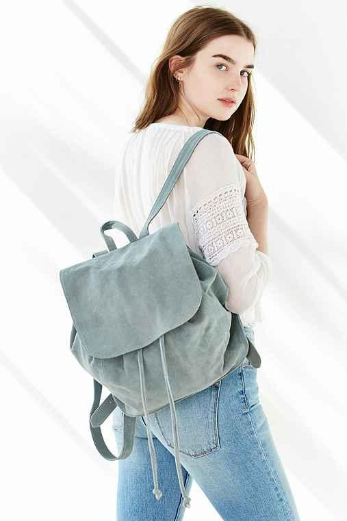 a9875f5af3 Ecote Suede Flap Mini Backpack from Urban Outfitters