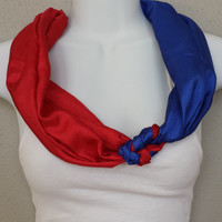 Chicago Cubs Scarf Texas Rangers Scarf Braves Scarf Dodgers Scarf Phillies Scarf MLB Scarf Baseball Scarf Sports Scarf Braided Scarf