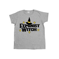 Feminist Witch -- Women's T-Shirt
