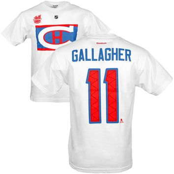 Montreal Canadiens Brendan Gallagher 2016 NHL Winter Classic Player Name and Number T-Shirt