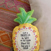 Pineapple Happy Pillow