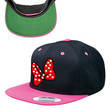 Minnie Mouse Bow Snapback Hat