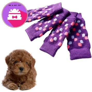 pet products for dog Warm Socks dogs pets clothing winter ropa para perros chihuahua meias
