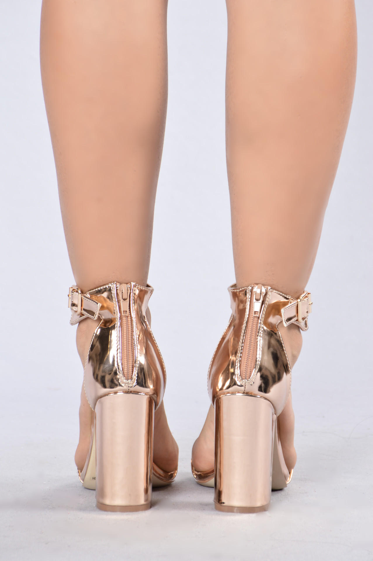 Estella Heel - Rose Gold from Fashion Nova  020a1355c