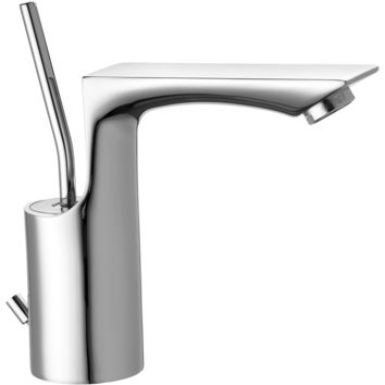 Windhill Single Lever Handle Bathroom Lavatory Basin Faucet With Pop-up Drain