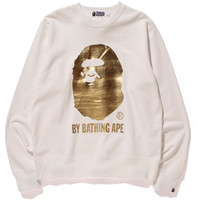 FOIL BY BATHING APE CREWNECK
