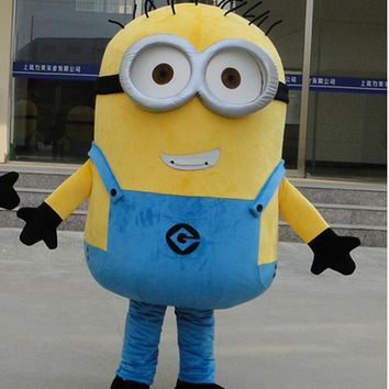 On Sale! Free Shipping,22 Styles, Despicable Me Minion Mascot Costume For Adults Despicable Me mascot costume