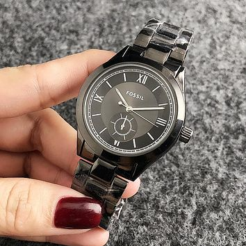 FOSSIL Men Women Fashion New Business Sport Movement Lovers Casual Watch