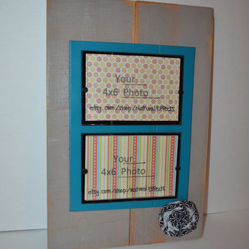 PIcture Frame displays  2- 4x6 ... Plexi Glass Front