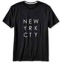 "Banana Republic Mens ""New Yrk Cty"" Graphic Tee"