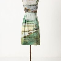 Artist's Rendering Dress - Anthropologie.com