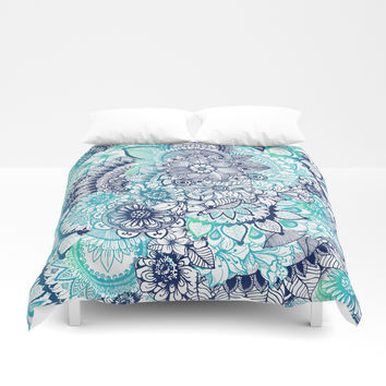 Hippie Vibes Duvet Cover by rskinner1122