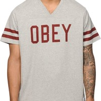 Obey Maddox V-Neck T-Shirt
