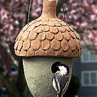 Acorn Birdhouses & Feeders - NUTHOUSE SMALL BIRDHOUSE