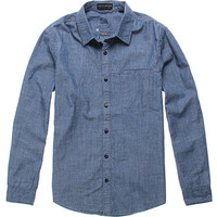 Bullhead Denim Co Chambray Long Sleeve Woven Shirt at PacSun.com