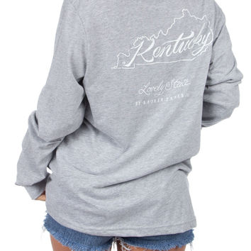 Lauren James - Kentucky Line Art L/S
