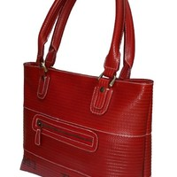 Recycled Fire Hose Tote Handbag - eco bags