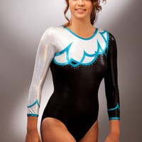 A Star Leotards For Gymnasts, Trampolinists, Majorettes, Dancers and Athletes