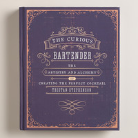 """The Curious Bartender"" Cocktail Recipe Book - World Market"