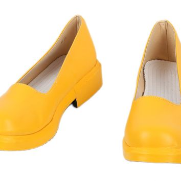 Xcoser PU Shoes Iron First Yellow Shoes Iron First Cosplay Shoes Sale