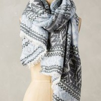 Tolani Stokeleigh Scarf in Blue Size: One Size Scarves