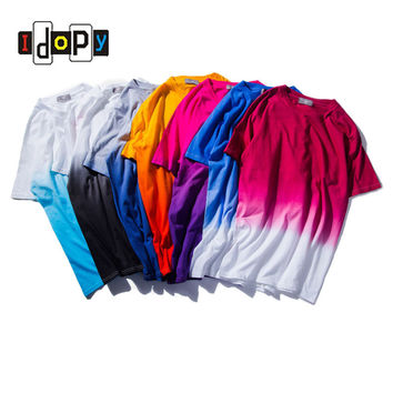 2016 New Unisex Urban T-shirts Tie Dye Colored  100% Cotton Tees For Men and Women