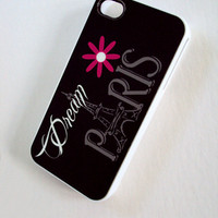 Paris iPhone 4 & 4S Cell Phone Case Sassy Cases Follow Your Dreams