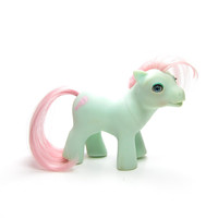 Baby Cuddles Beddy Bye Eyes My Little Pony G1 from Baby Buggy Playset