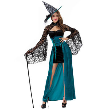Sexy Halloween Costumes Cosplay Demon Witch Uniform
