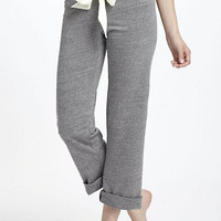 Ribboned Cropped Loungers