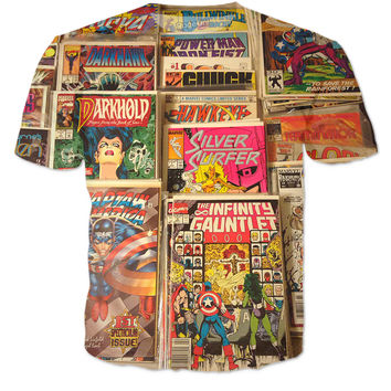 Comic Books Tshirt 2