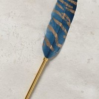 Plumed Writing Pen by Anthropologie