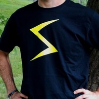 Lightning Bolt Shirt. Superhero T-Shirt. Graphic Tee. Unisex Sizing. from Evangelina's Closet