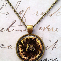 Lord of the Rings Necklace, LOTR Pendant T685
